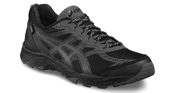 asics Gel-FujiTrabuco 5 G-TX Shoe Men Black/Dark Steel/Silver